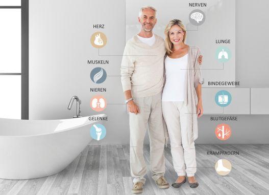 So viel Gesundheit steckt im Badezimmer