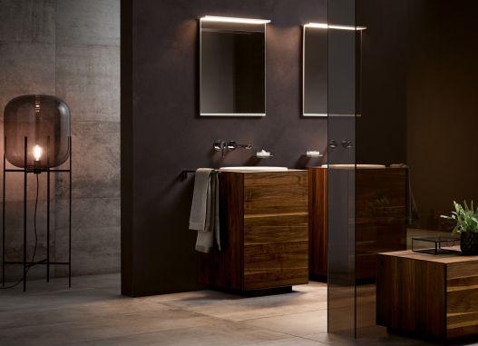Nicht nur zum schönen Schein - Das Badezimmer im Lampenfieber