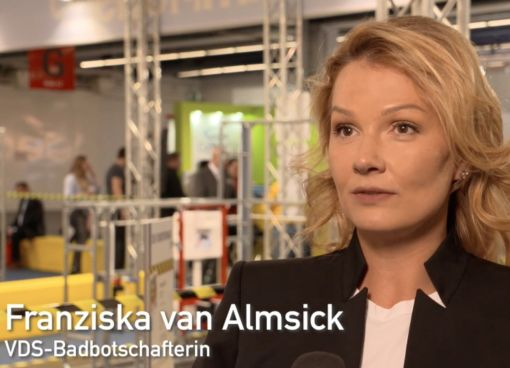 Franziska van Almsick: Ich find's mega.