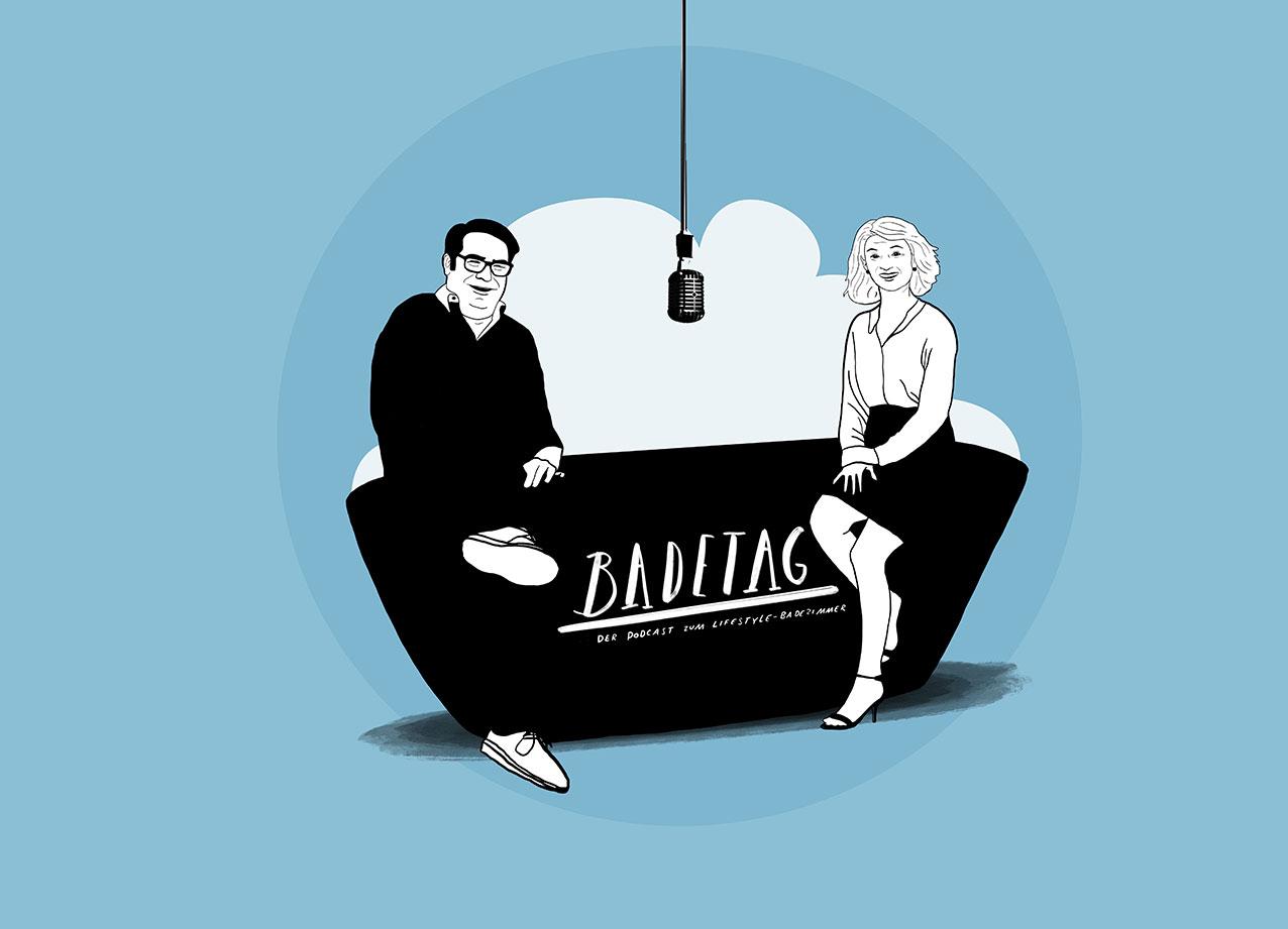 Neuer Podcast Badetag bietet Talk und Tipps