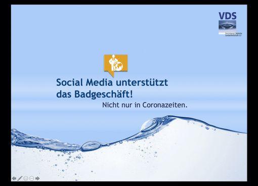 Social Media unterstützt das Badgeschäft