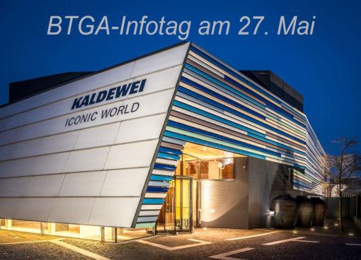 Einladung zur BTGA-Veranstaltung